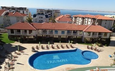 Таунхаус с 2 спальнями в ж.к. Триумф - в Болгарии