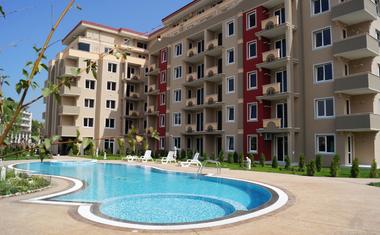 Апартамент с 1 спальней в красивом комплексе - в Болгарии