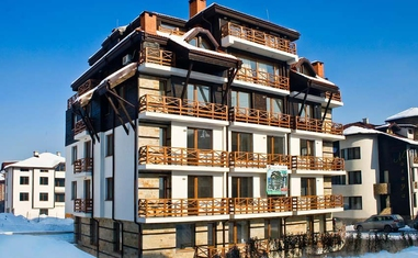 Квартира с 2 спальнями Snow Pearl - в Болгарии